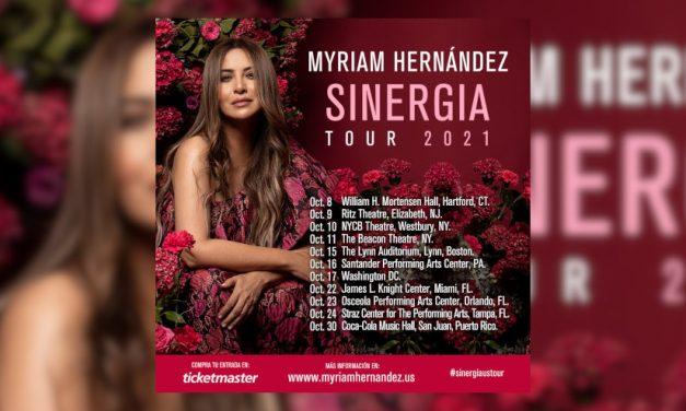 Myriam Hernández presenta 'Hasta aquí' como adelanto de su próxima gira por Estados Unidos