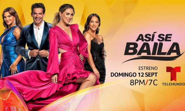 Telemundo da un paso más hacia el gran estreno de 'Asi se baila',  su nueva competencia de baile original que estrena el domingo 12 de septiembre a las 8pm /7c