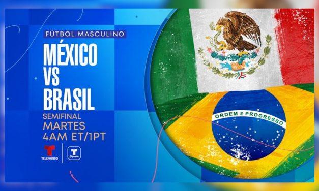 Las semifinales del fútbol masculino resaltan la cobertura olímpica de Telemundo Deportes