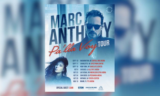 Cami artista invitada en la nueva gira de Marc Anthony en EEUU
