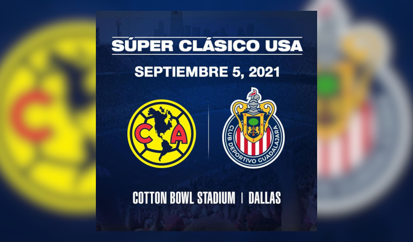 Club América vs Chivas de Guadalajara