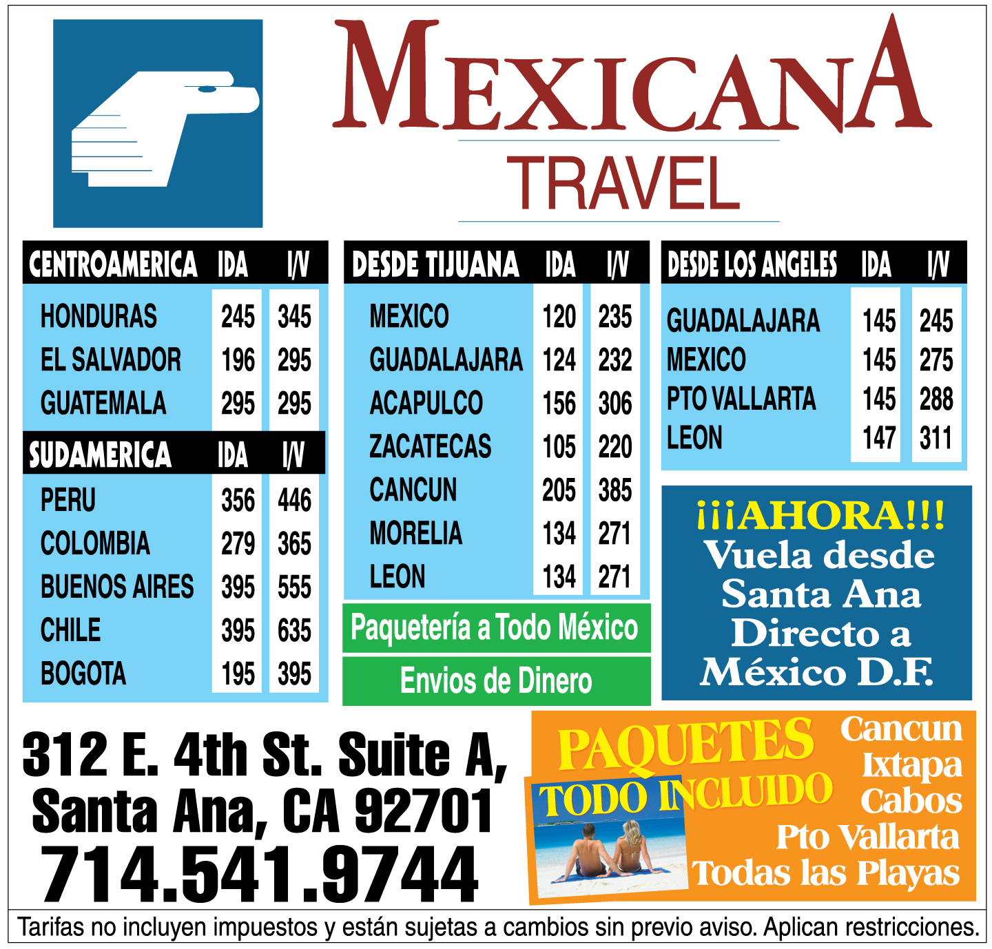 Mexicana Travel