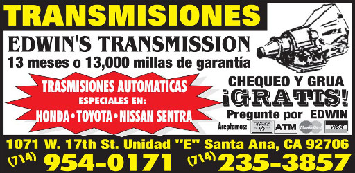 Edwin\'s Transmisiones